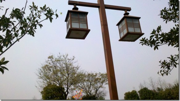 公园里的路灯