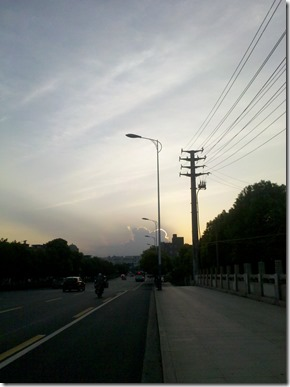 夏日黄昏1